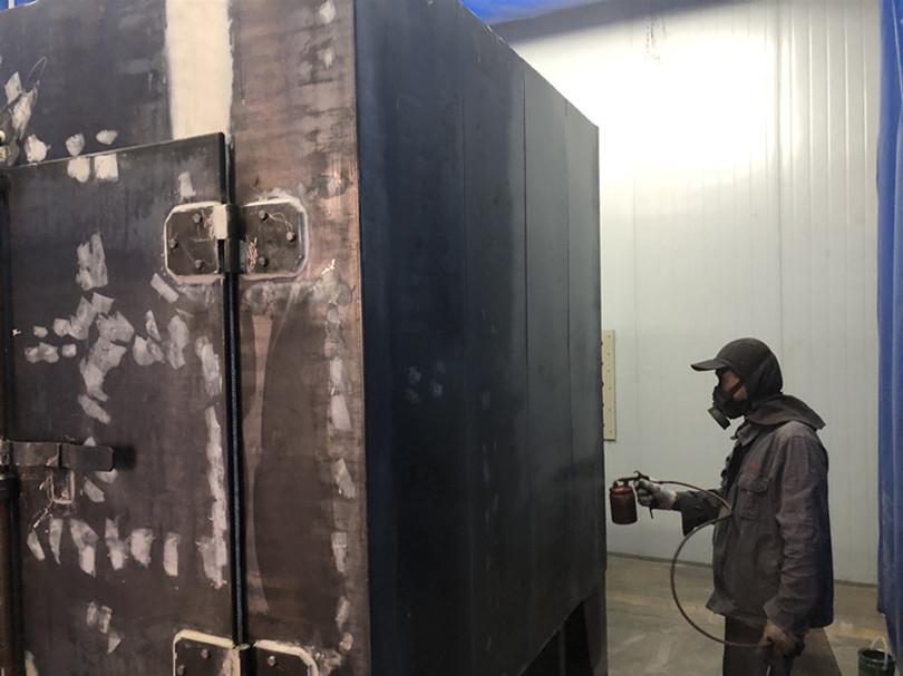 Box type aging furnace Spray paint