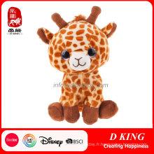 Jouet de girafe bourré par animal doux de la Chine Wholeslaer