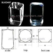 K9 cristal pour BLKD487 de la gravure de laser 3d