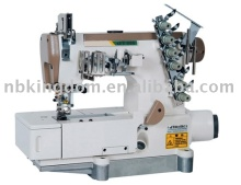 JT888-01DB-Z Computer-Controlled Driver Drive High-Speed Stretch Sewing Machine(Four Needles Six Thread)