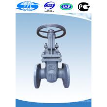 standard flanged rising stem gate valve WCB manual steel water valve