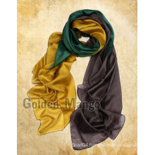 Classic Fashion Two-town Silk Chiffon Scarf