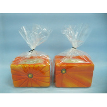 Calabaza artesanía de cerámica de forma de candelero (loe2361-9z)