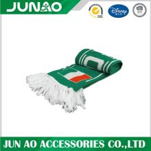 Cheap Acrylic Football Fan Knitted Scarf