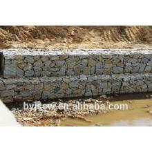 Gabion Retaining Wall e Gabion Preço de colchão com Gabion Mesh Machine