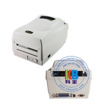 Impressora de etiquetas de cuidado de transferência térmica de interface térmica preto e branco cp 2140