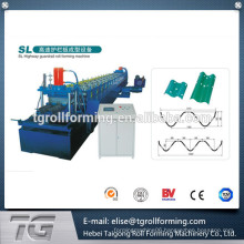 Passed CE and ISO Full Automatic PLC Control Highway Guardrail Roll Forming Machine