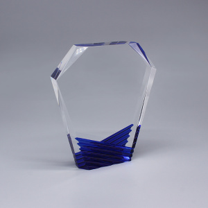 Personliga Art Glass Awards Trophies