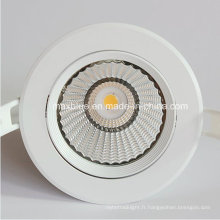 18W Boîtier blanc CREE / Epistar COB LED Down Light