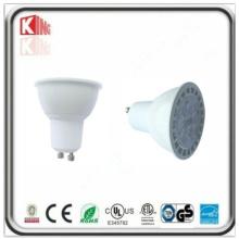 Projetor de LED GU10 de 7W regulável e listado ETL