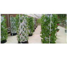 Indoor Plant Vertical Tower Growing Systems column hydroponic aeroponic planting system