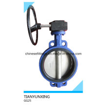 API DIN Operation Operation Wafer Ductile Iron Butterfly Valve