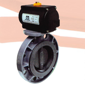 Pneumatic Actuator Butterfly Valve for Water Supply