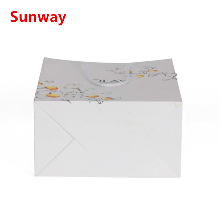 Large White Paper Shopping Bags