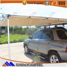 4x4 camping equipment easy set up camping car awning as sun shelter