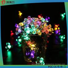 2016 Newest Flower Shape Solar-Powered Decoration Christmas Light