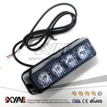 China vende al por mayor la luz impermeable que destella 12V / 24V del estroboscópico de la señal de seguridad amonestadora de la emergencia de 4W LED
