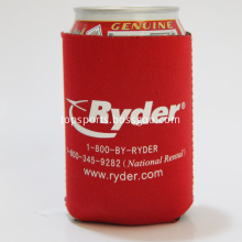 Printed neoprene cooler bag sleeve for can beer
