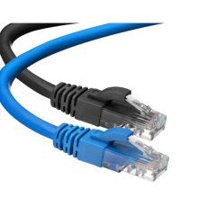 Cable de conexión UTP CAT6 (azul y negro)