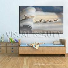 Wand-Dekor-Buch-Segeltuch-Kunst für Wohnzimmer