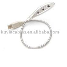 USB 3 LED Light Lamp Flexible For PC Notebook Laptop