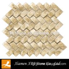 decorative emperador light marble tiles mosaic
