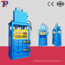 Compressing hydraulic bottle baler