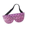 Jouets de sexe modifiables en cuir pour jeu de couples Purple Produits érotiques chauds Masque pour les yeux