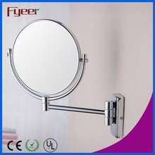 Fyeer Foldable Brass Wall Makeup Mirror (M0748)