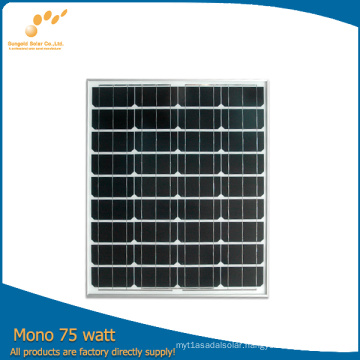 Sungold 75W Photovoltaic Solar Panel with High Efficiency (SGM-75W)