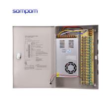 SOMPOM 12V 30A 360W 18CH ac to dc CCTV Power Supply for cctv camera