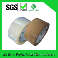 Clear/Brown Custom Logo Printed Adhesive BOPP/OPP Packing Tape