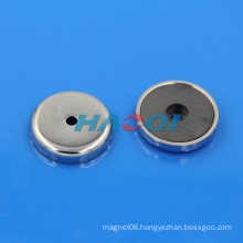 Magnetic Round Base Ceramic Cup Magnet