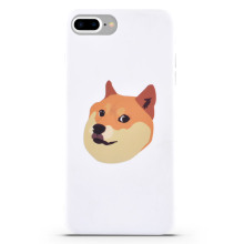 White Cover Animal Aplle iphone8 Cover caso