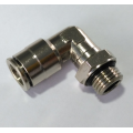 Air-Fluid Nickel Plated Brass Push-fit Fittings