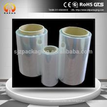 Kundenspezifisches transparentes PVC-PVC-Schrumpfetikett für Flaschen- und Kastenverpackung