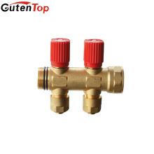 Gutentop 2 Out Brass Floor Heating Manifold