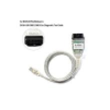 USB interfaz Obdii para BMW Inpa K + Dcan Cable coche herramienta de diagnóstico