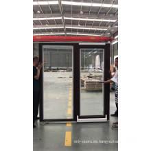 Puerta corredera de perfil de aluminio Super septiembre de compras.