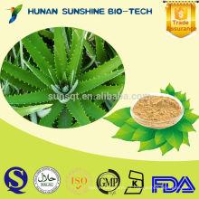 Extracto de planta Aloe Vera Price / Aloin / Aloe barbadensis Mill Extracto para alimentos y bebidas Campo