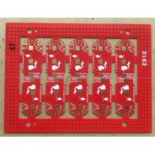0.4mm FR4 rouge ENIG PCB