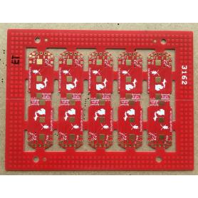 0.4mm FR4 Red ENIG  PCB