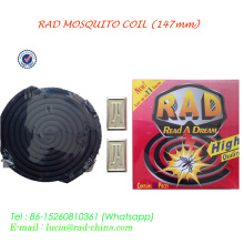 Rad Africa Popular Black and Micro-Smoke Smokeless Mosquito Coil