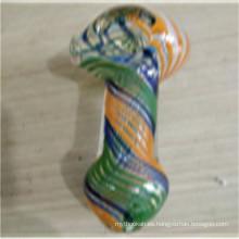 Pipas de cristal de la cuchara de la buena calidad del precio al por mayor para fumar (ES-HP-157)