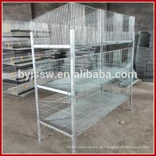 Handelsversicherung benutzte Kaninchen-Käfige für Verkauf