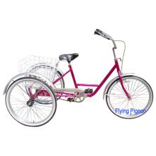"""Triciclo Traseiro com Pedal de Freio Traseiro de 24 """""""