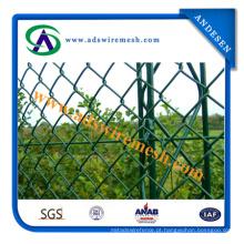 Cerca provisória da construção / painéis de cerca / cerca do elo de corrente da construção