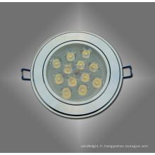 LED blanc / chaud 12W blanc plafonnier Spot pour la longue durée de vie du logement