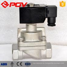 válvula solenoide de alta presión de China 24 v 12 v 220 v ac dc