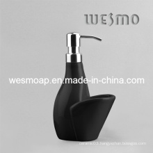 Unique and Simple Style Porcelain Soap Dispenser (WBC0602A)